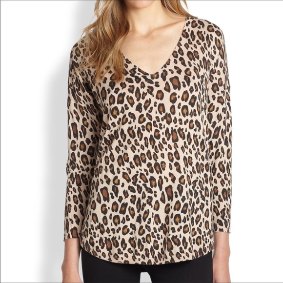 cb1dfac06444 Joie Chyanne cheetah print v neck sweater. Joie.  M_5b7d7ab09264af8e8d23d6c1. M_5b7d7ab234e48a5ae26f0f5e.  M_5b7d7ab3153795f1c0b0aa36